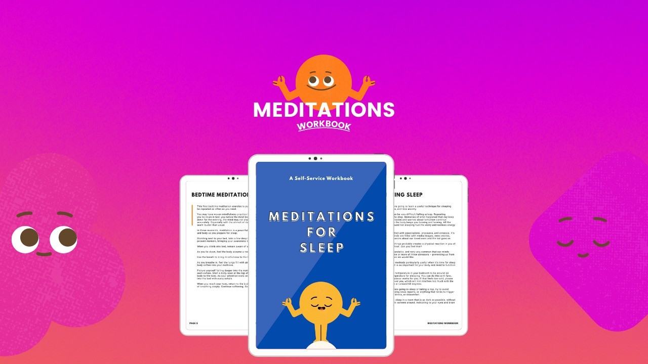 AppSumo Deal for Meditations for Sleep (Workbook)