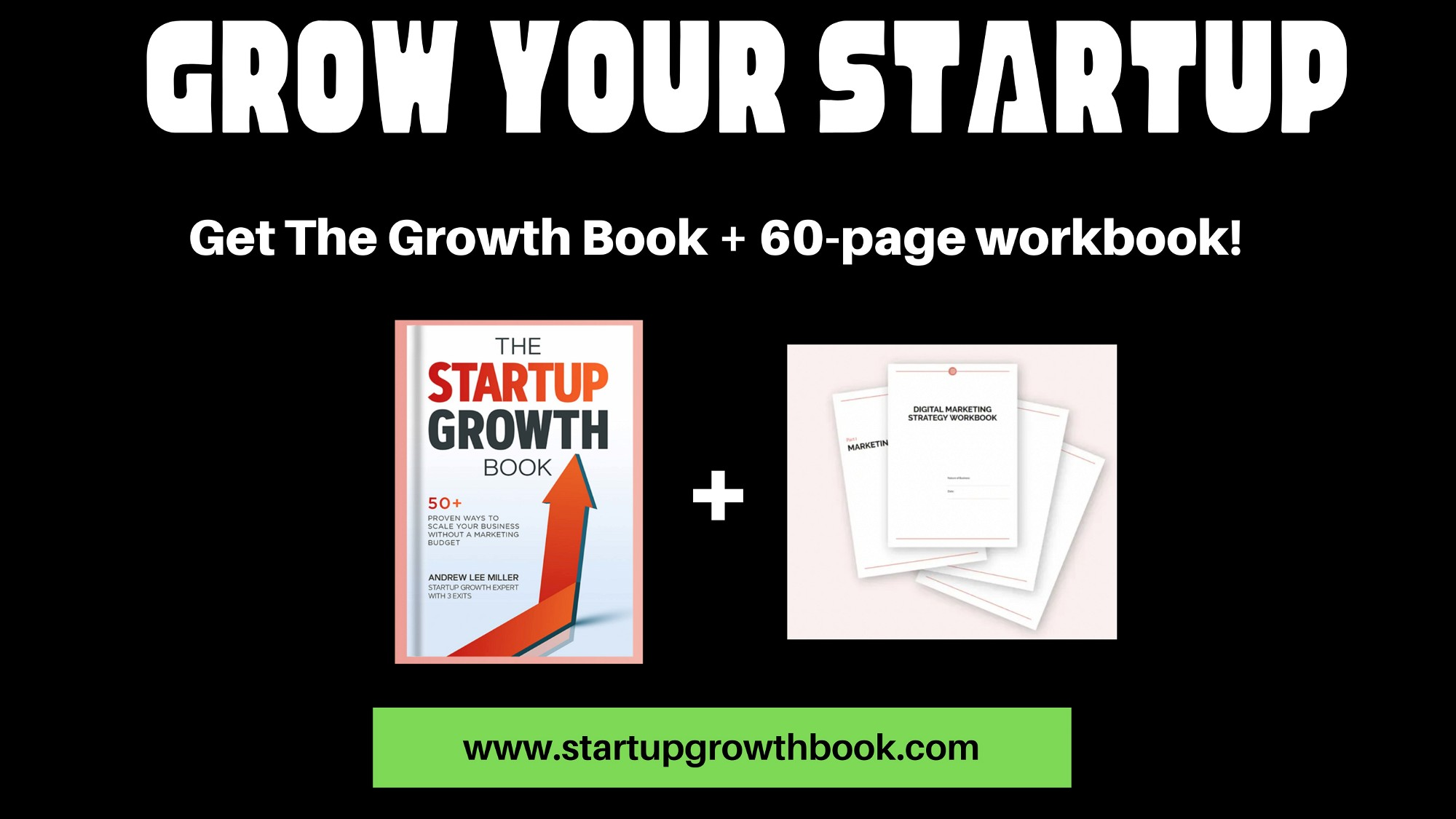 AppSumo Deal for Startup Growth Book + 60 Page Digital Workbook