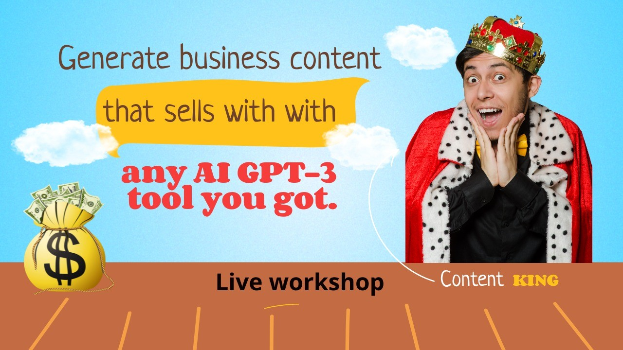 AppSumo Deal for Generate Business Content That Sells With Any AI GPT-3 Tool You Got