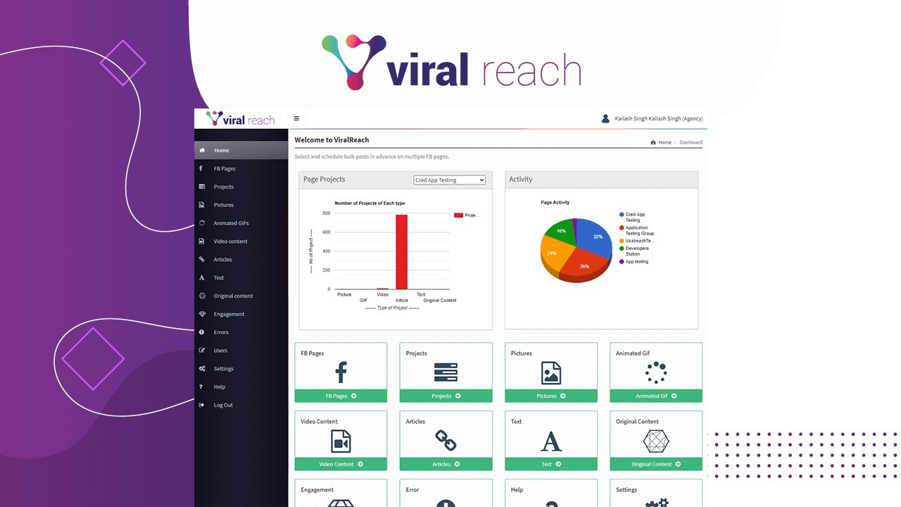 AppSumo Deal for ViralReach - Automated Content Discovery and Posting for Facebook