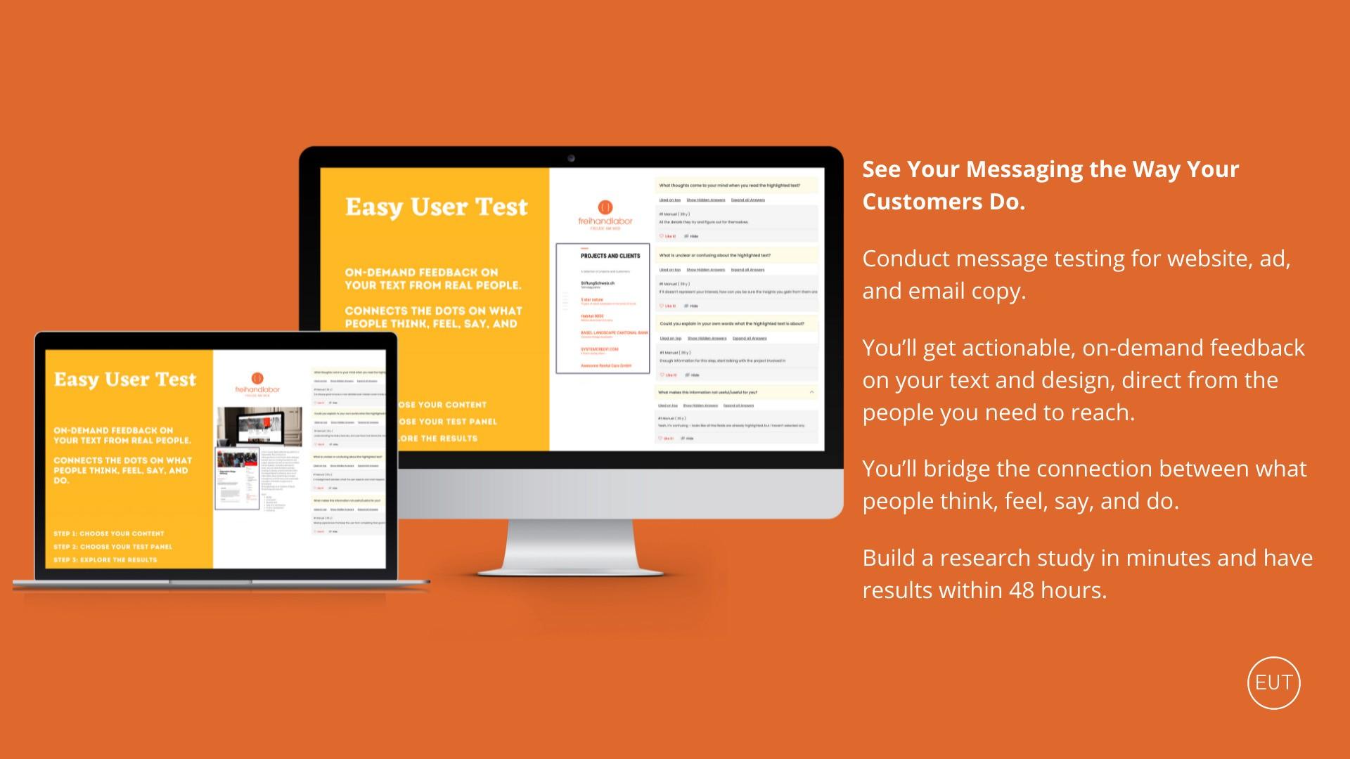 AppSumo Deal for Easy User Test