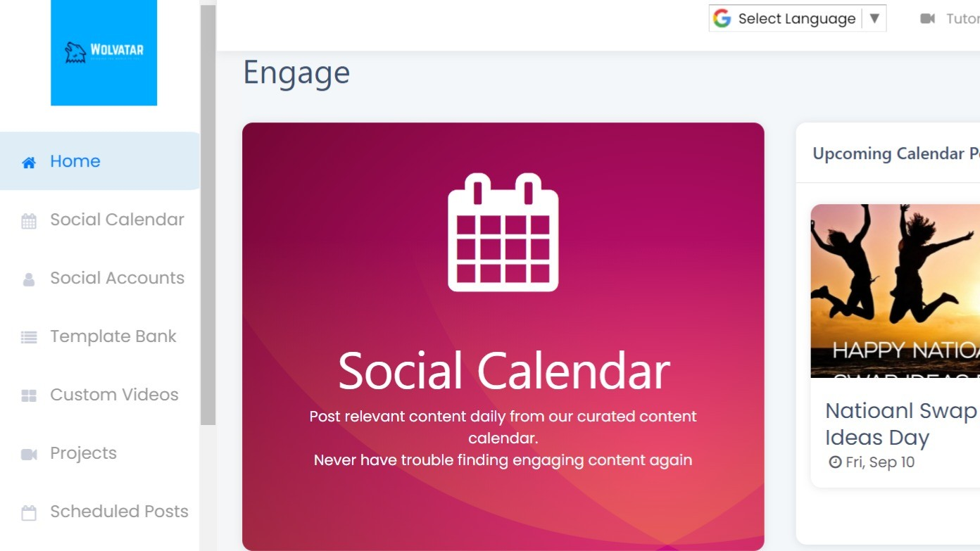 AppSumo Deal for Wolvatar Social Media Marketing Software
