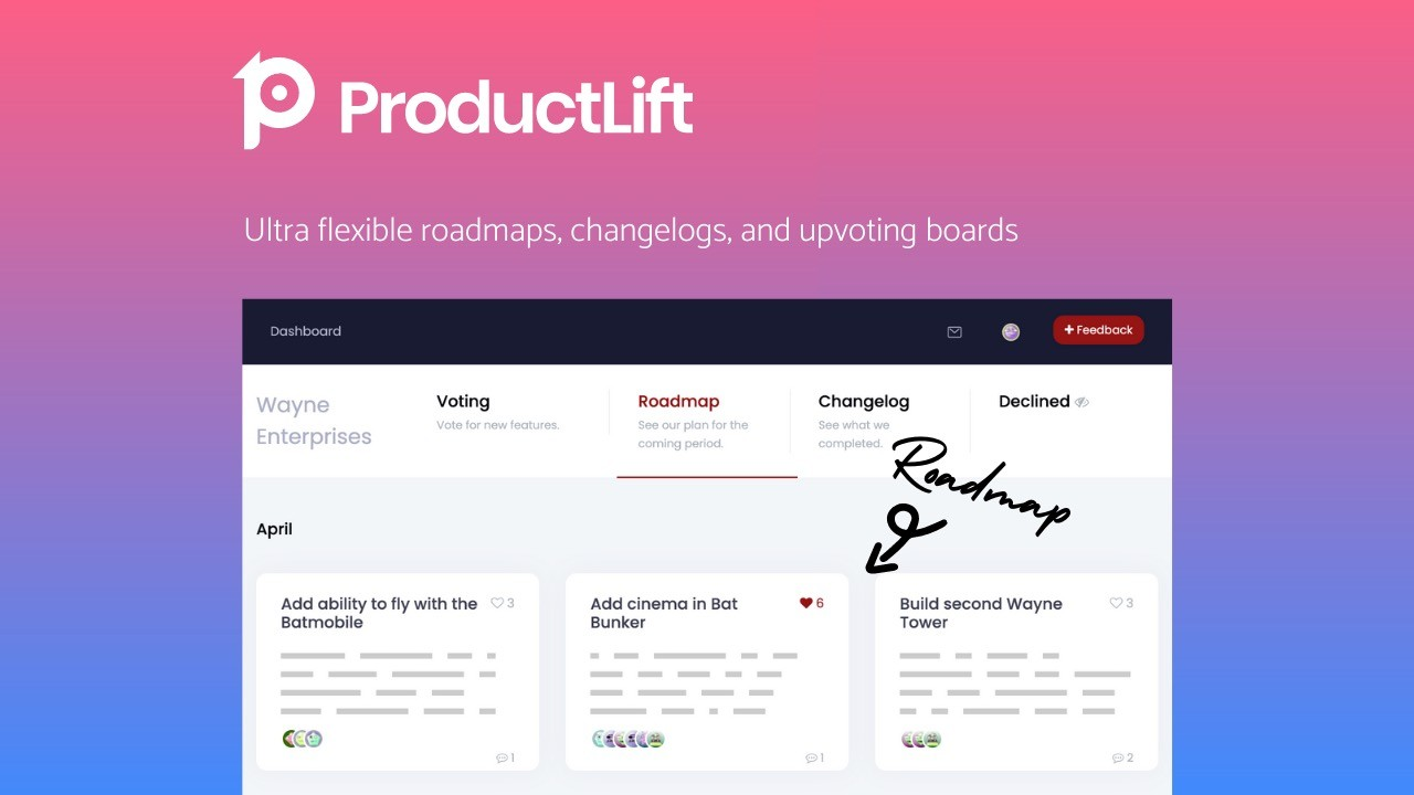 AppSumo Deal for ProductLift
