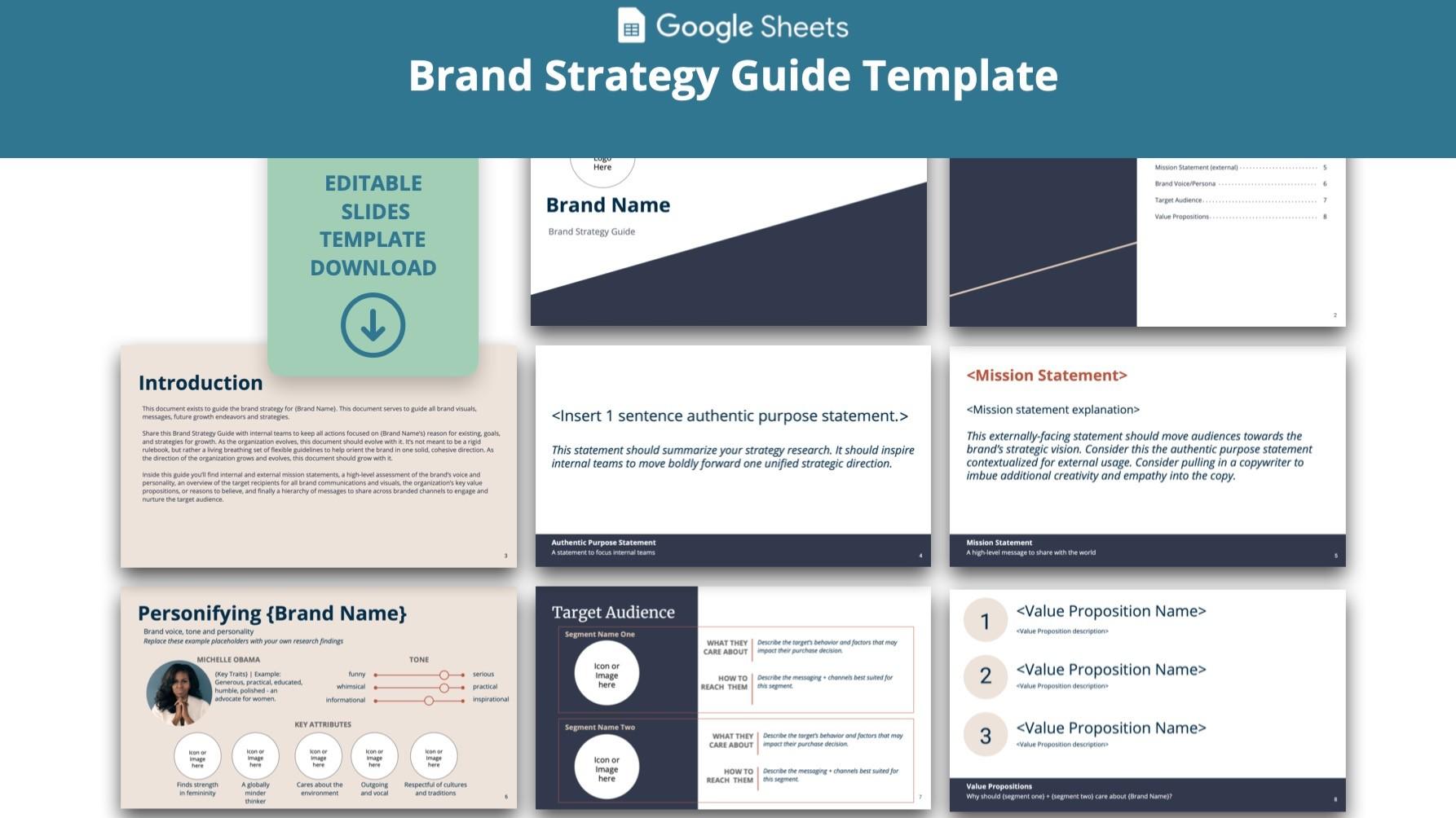 AppSumo Deal for Brand Strategy Guide  - GoogleSlidesTemplate
