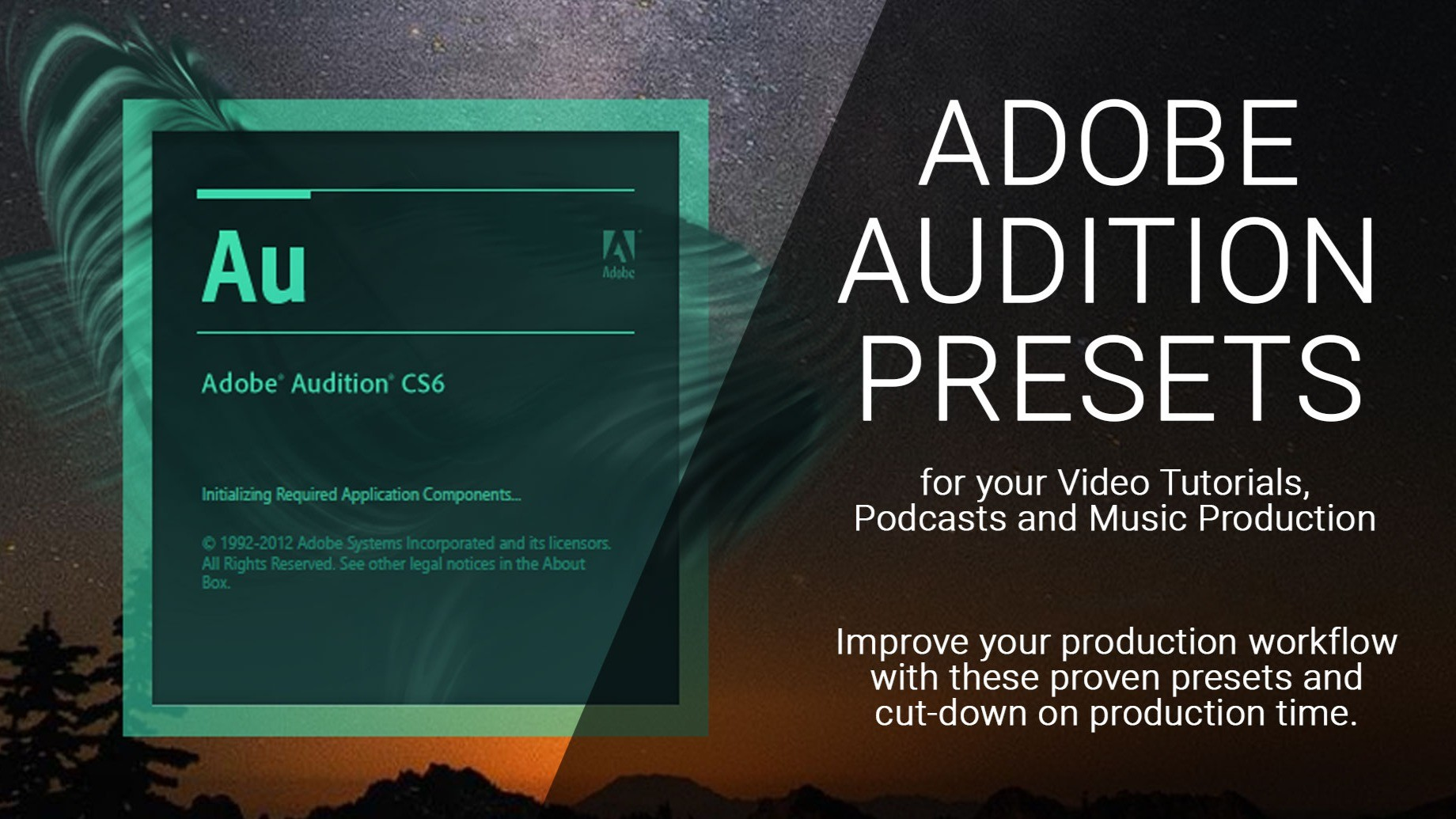 AppSumo Deal for Adobe Audition Presets for Tutorials, Podcasts and Music Production