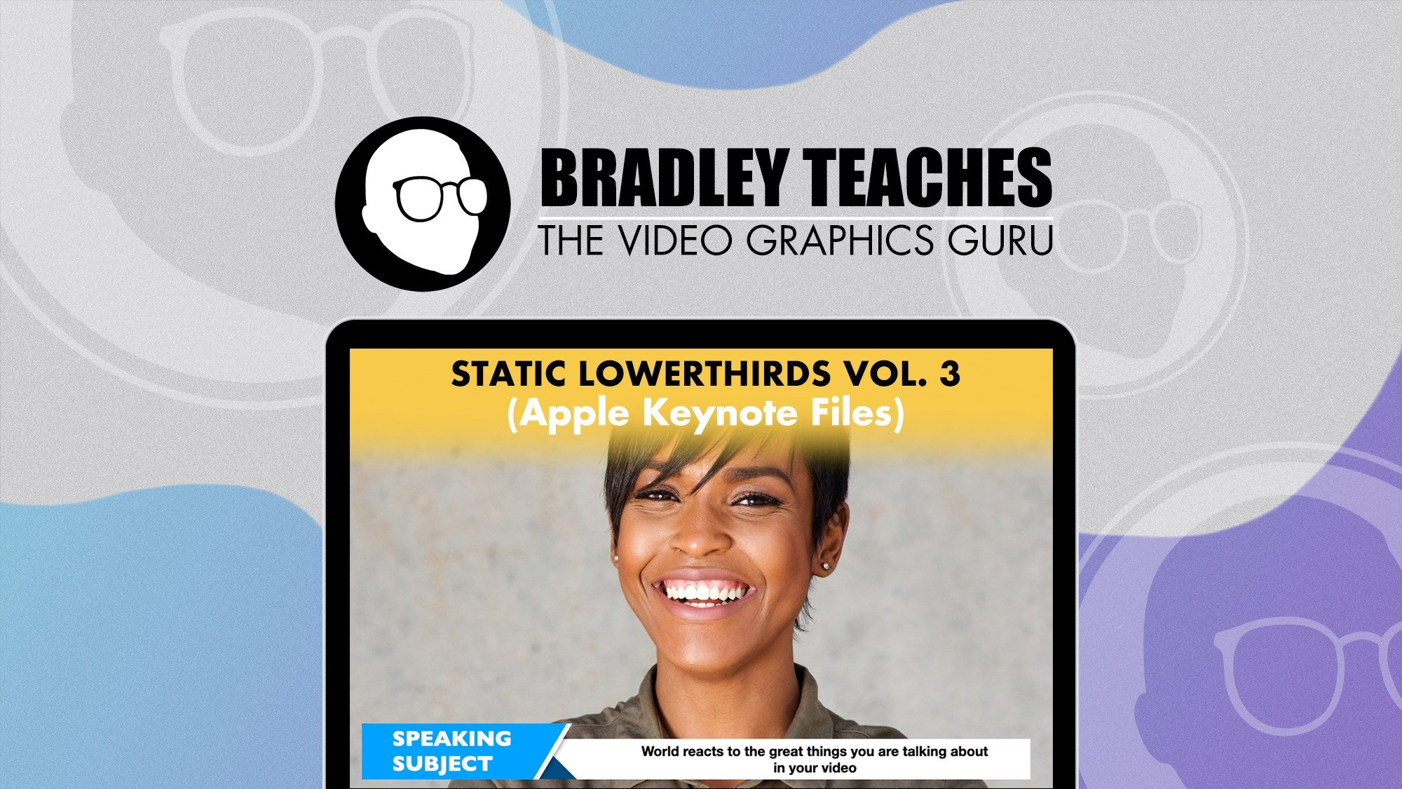 AppSumo Deal for Static lower thirds Vol. 3