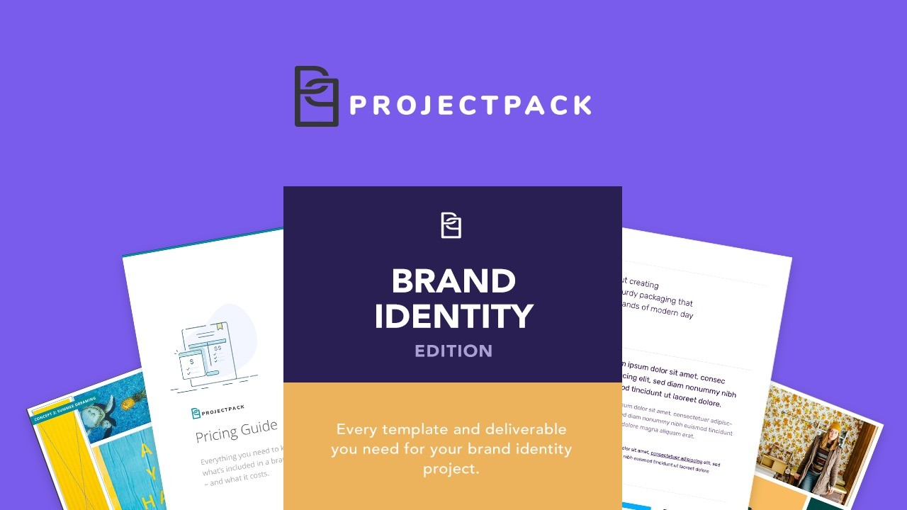 AppSumo Deal for Project Pack: Brand Identity Edition