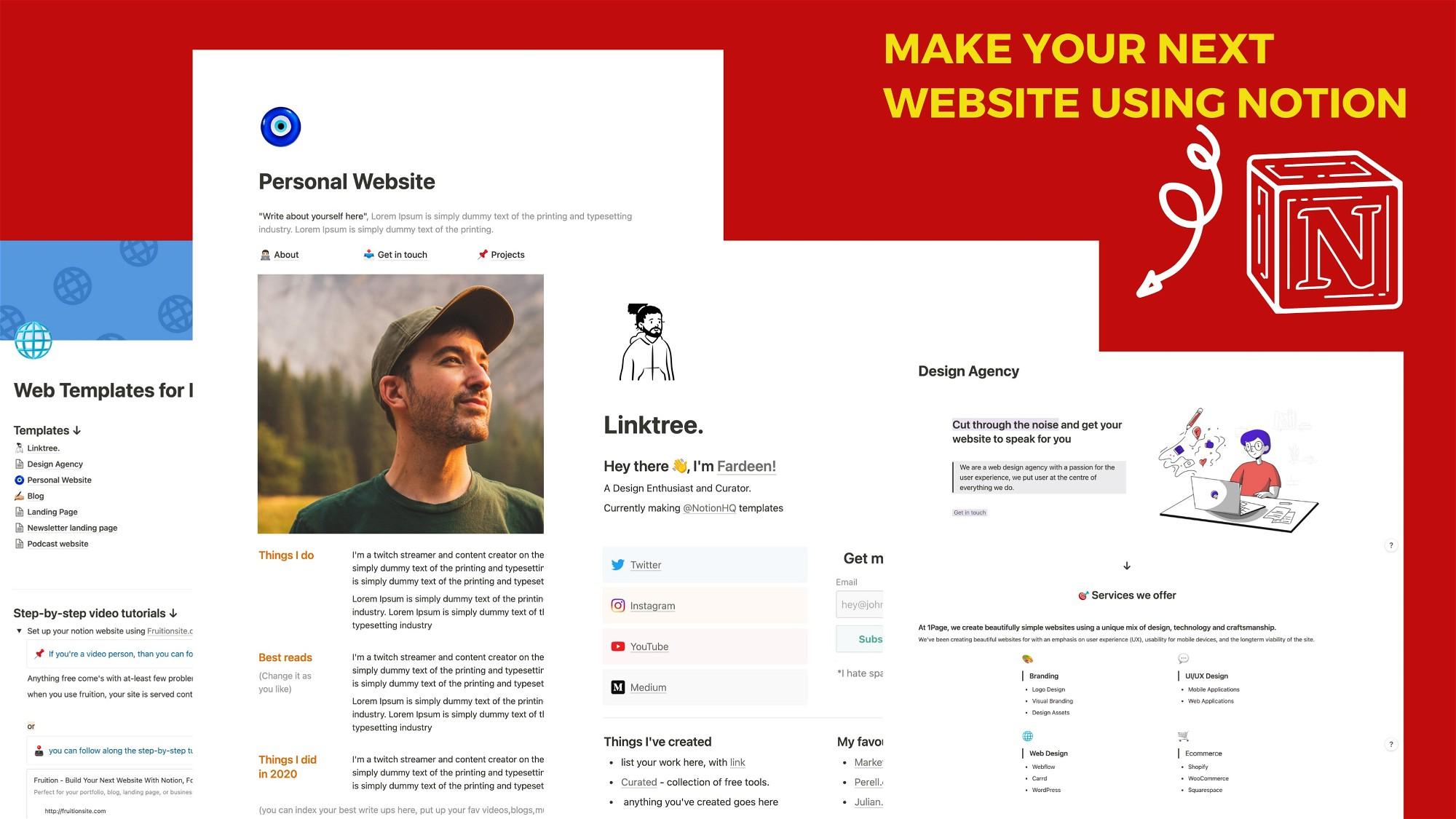 AppSumo Deal for Notion Website Kit