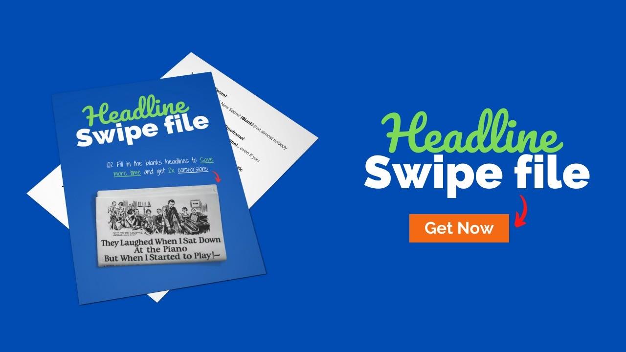 AppSumo Deal for The Headline Swipe File: 102 headline to get 2x conversion