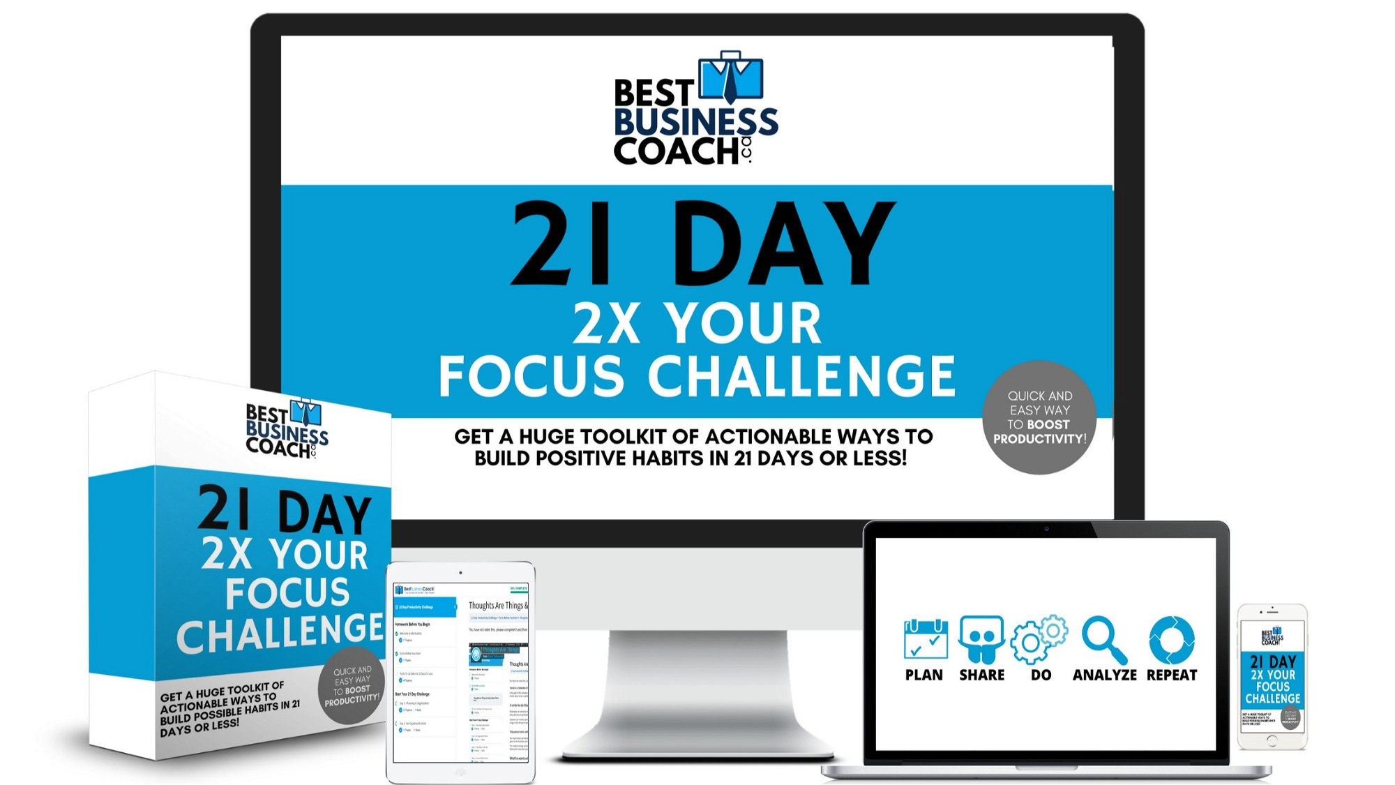 AppSumo Deal for The Remote CEOs 21 Day 2x Your Focus Challenge