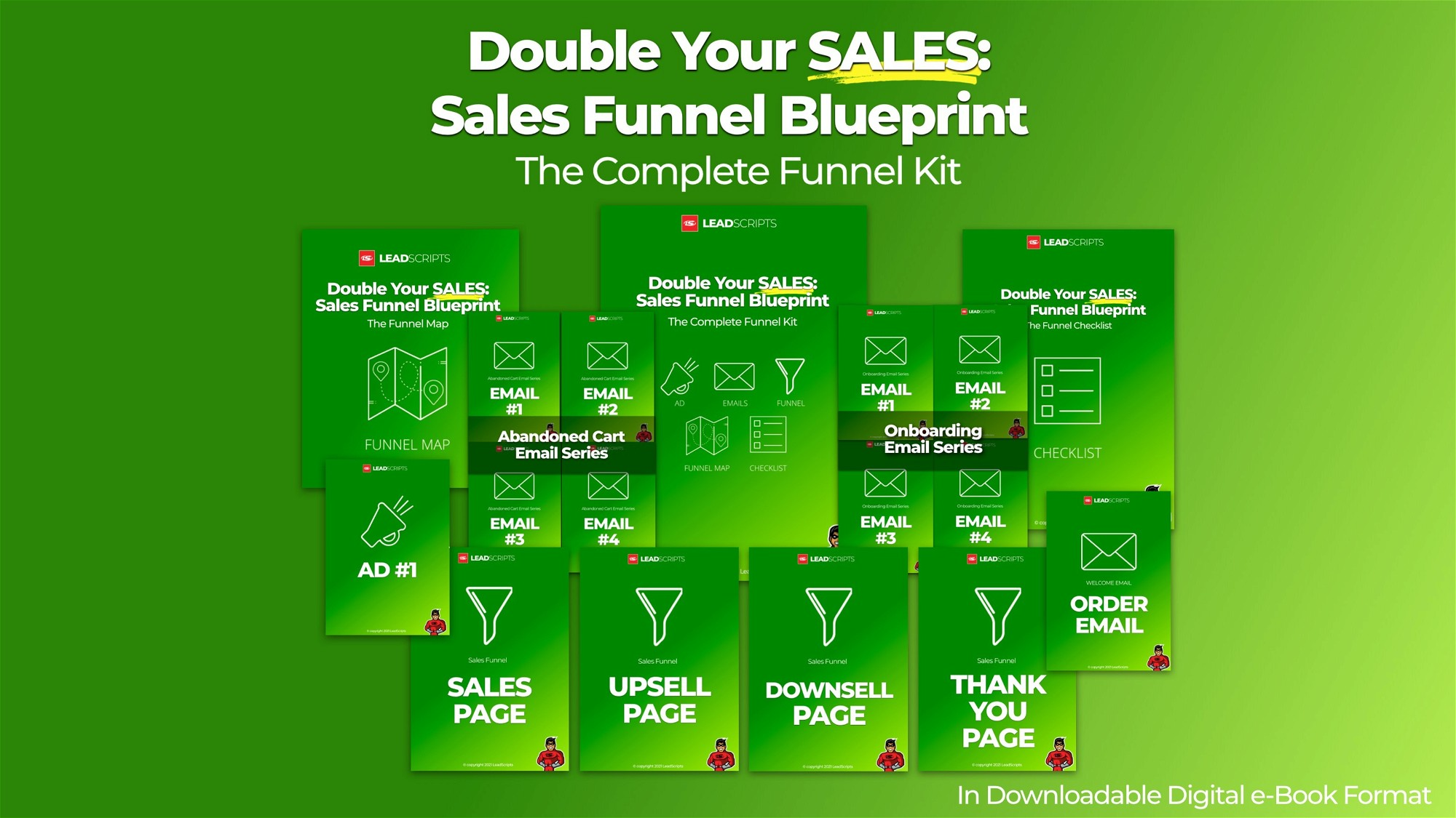 AppSumo Deal for Double Your Sales - Sales Funnel Blueprint - The Complete Funnel Kit