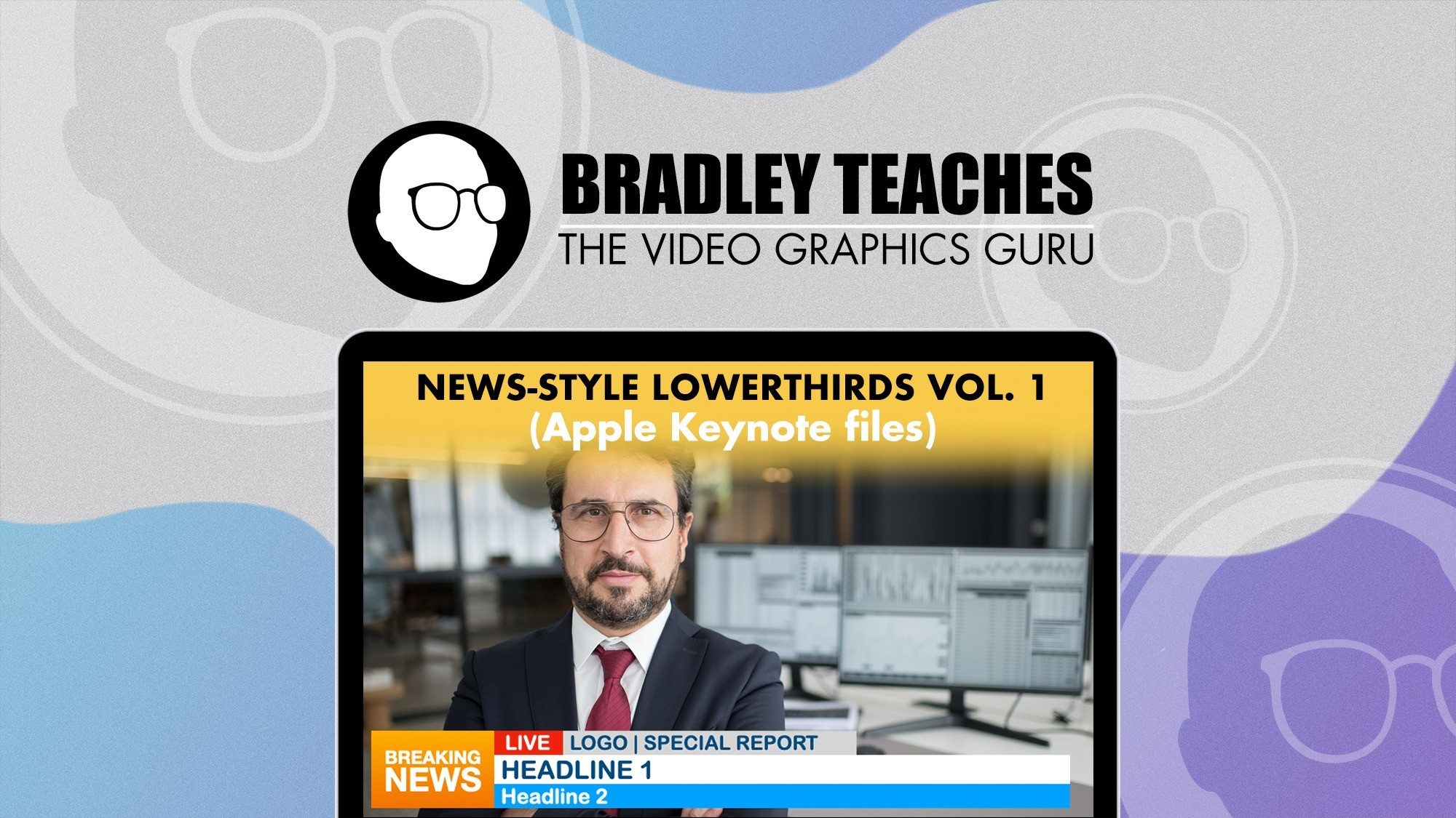 AppSumo Deal for News-style Lower Thirds Vol. 1