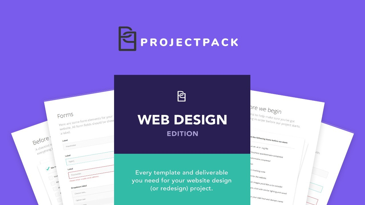 AppSumo Deal for Project Pack: Web Design Edition
