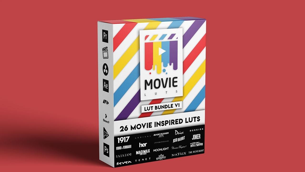 AppSumo Deal for Movie LUTs Bundle V1