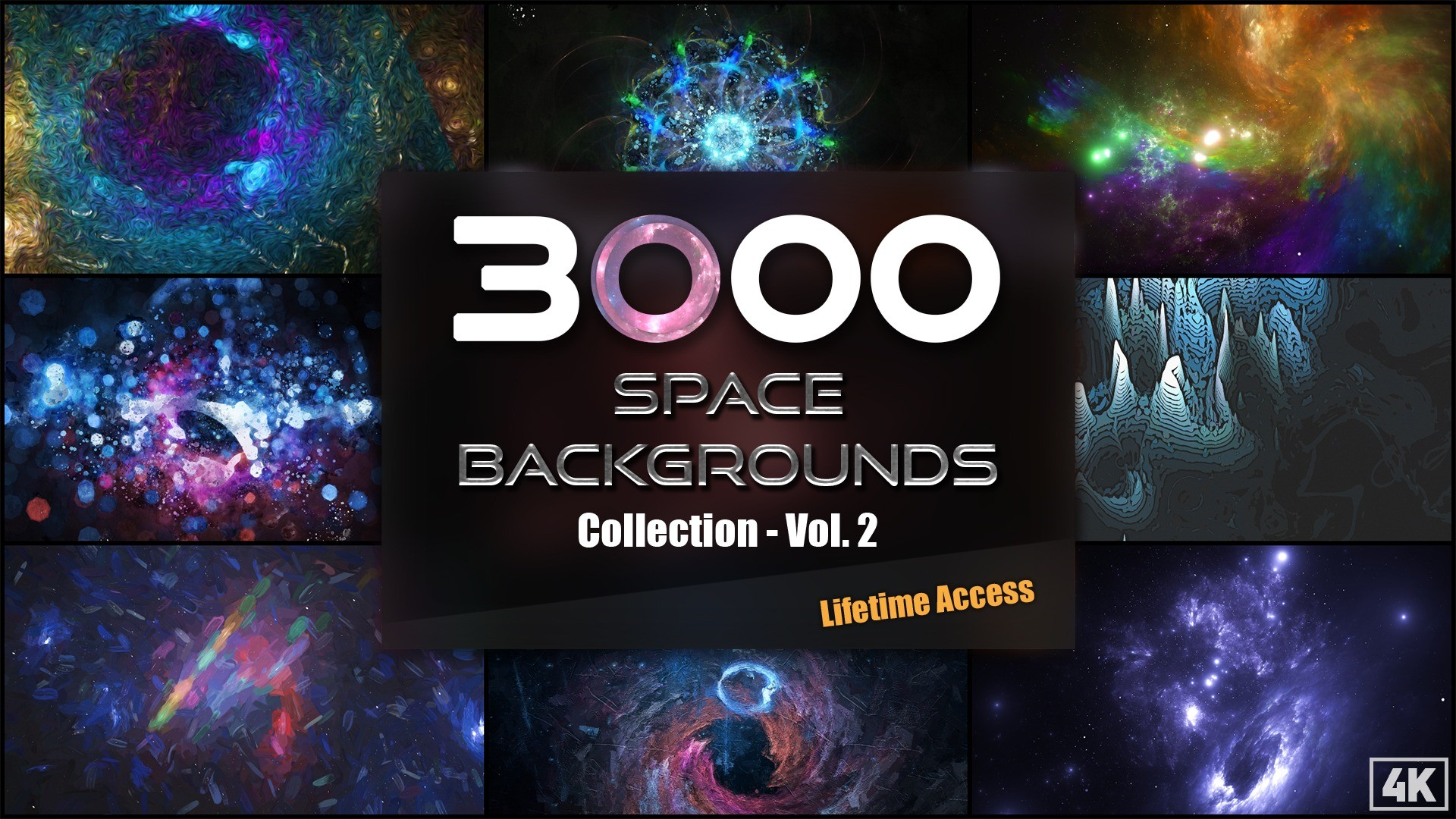 AppSumo Deal for 3000+ Space Backgrounds and Textures Collection – Vol.2