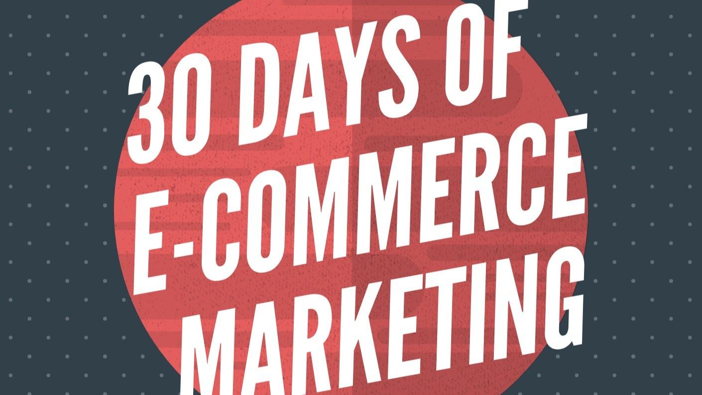 AppSumo Deal for 30 Days of e-commerce marketing