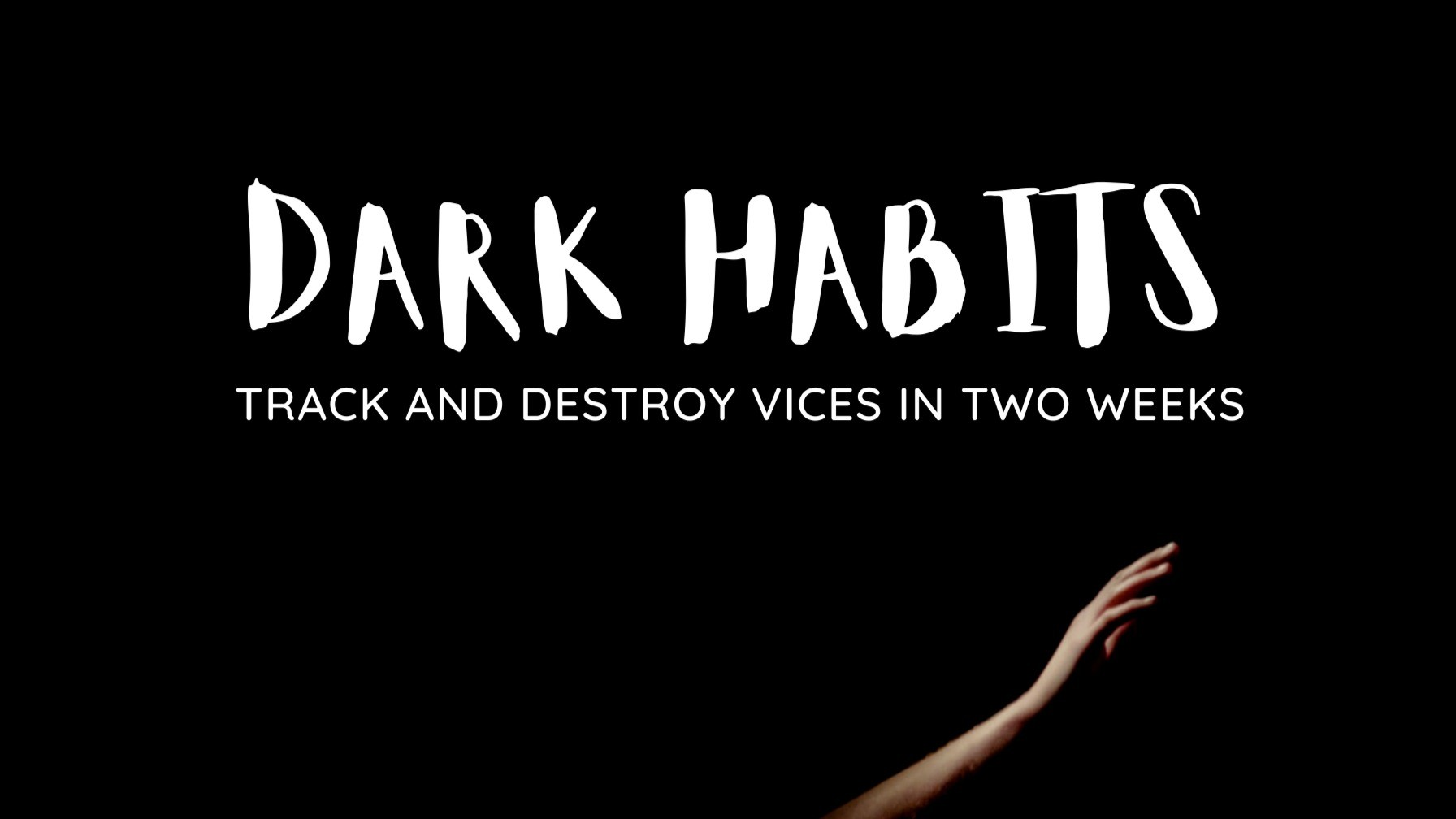 AppSumo Deal for Dark Habits: A Google Sheet Tracker to Destroy Bad Habits