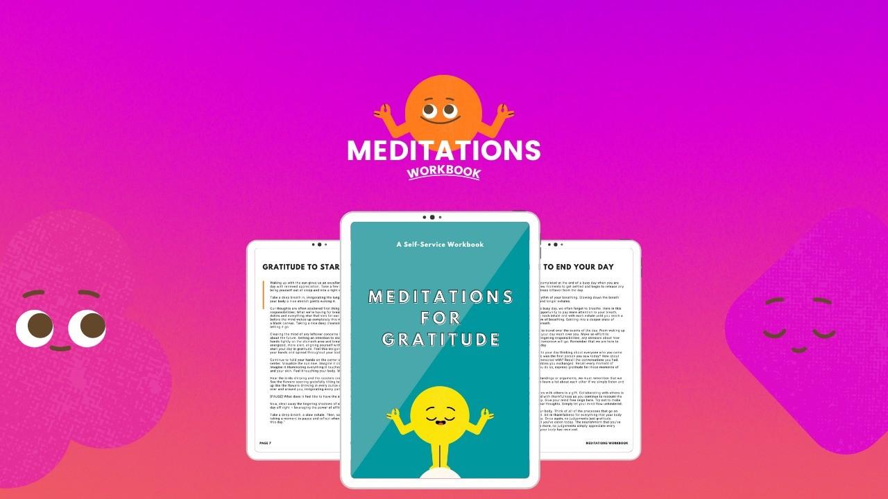 AppSumo Deal for Meditations for Gratitude (Workbook)
