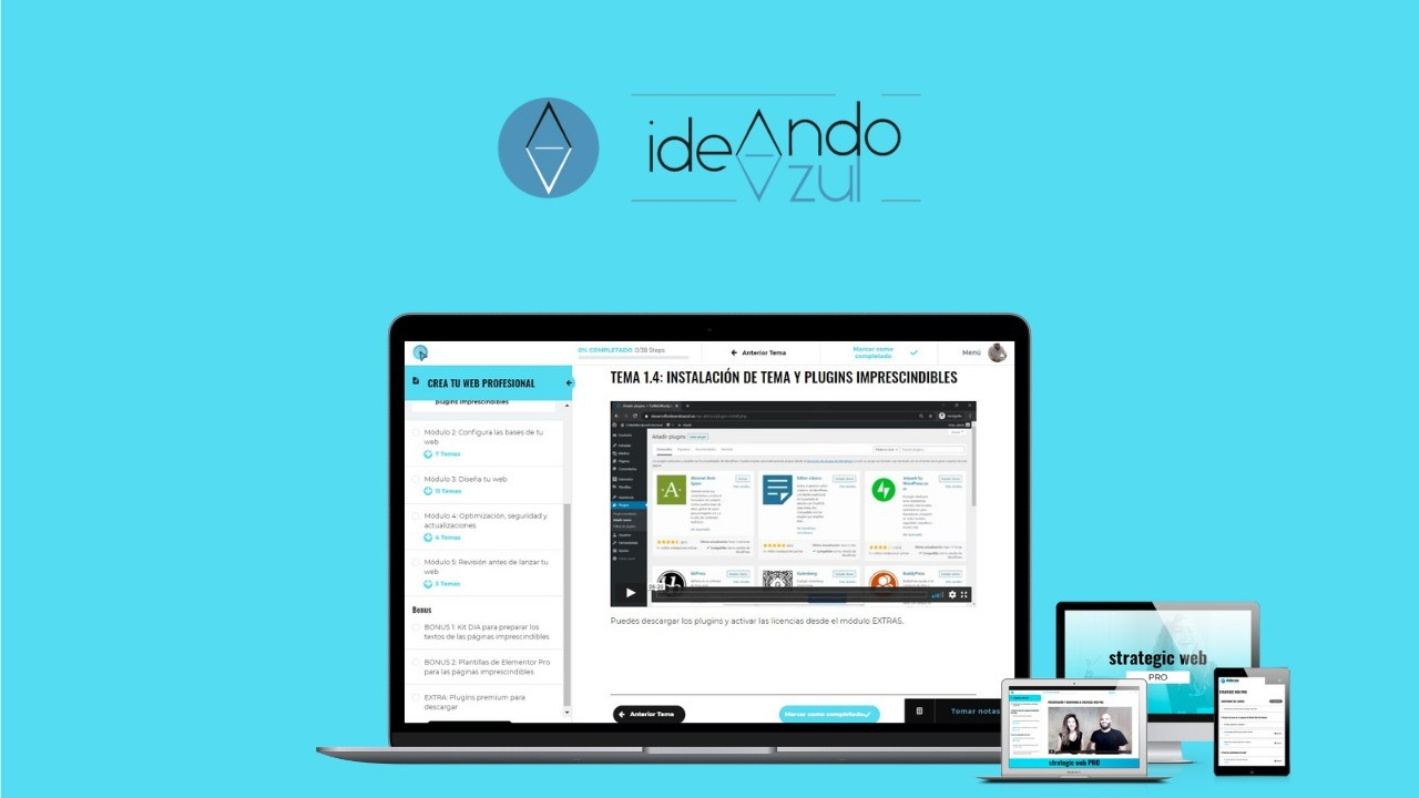 AppSumo Deal for Curso Crea Tu Web Wordpress Profesional