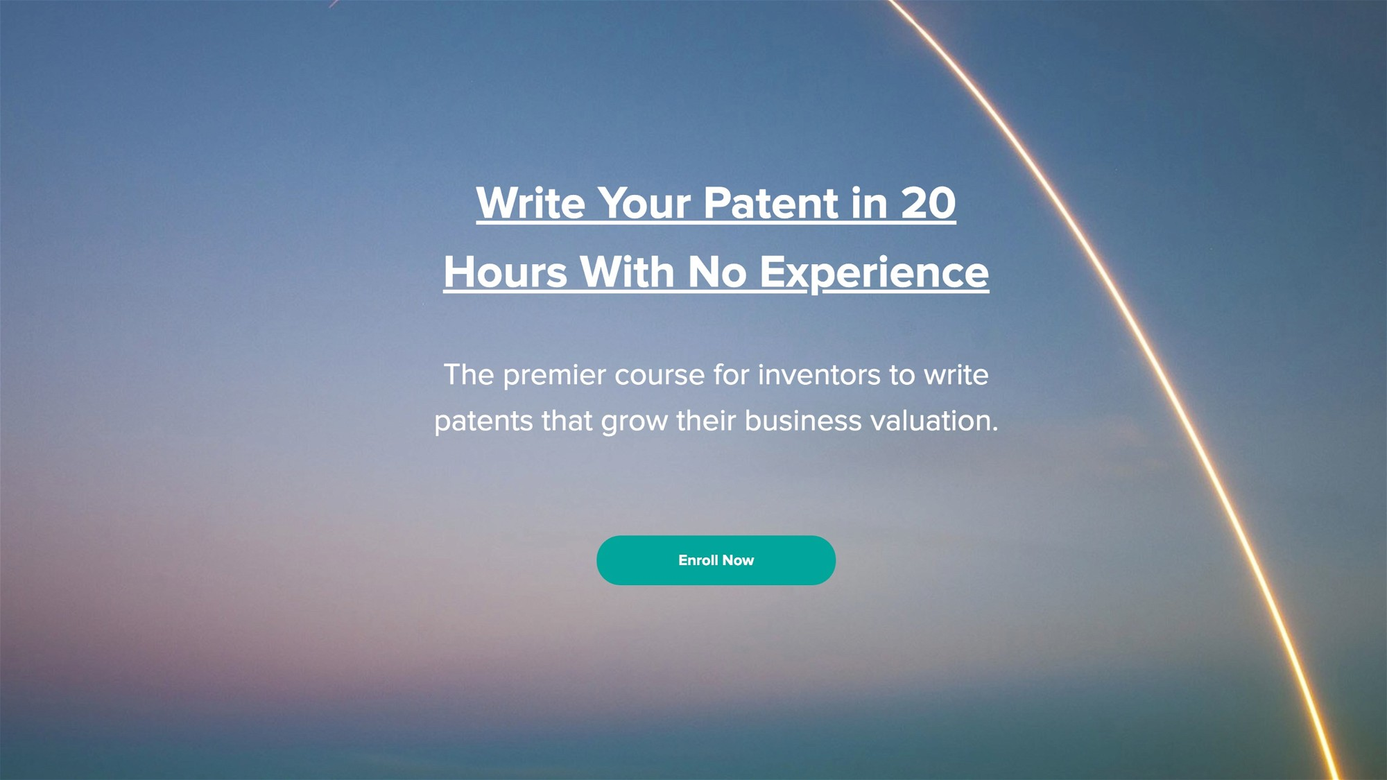 AppSumo Deal for Write Your Patent in 20 Hours With No Experience - Zero to Patent Course