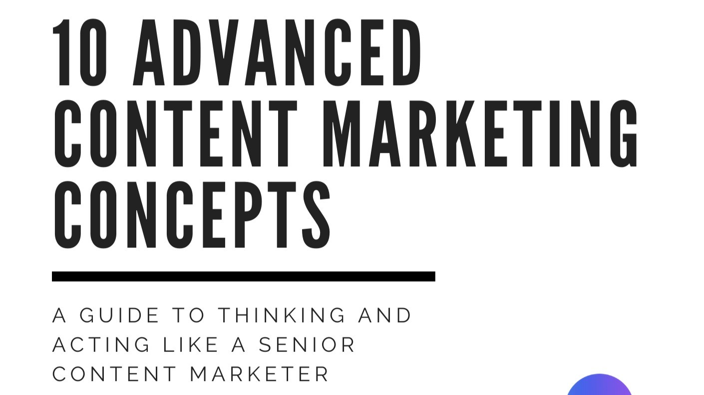 AppSumo Deal for 10 Advanced Content Marketing Concepts