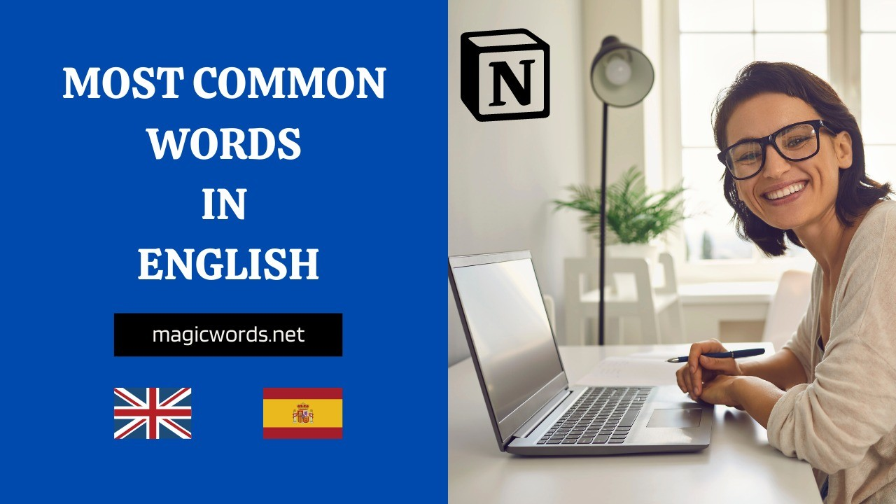 AppSumo Deal for Most Common Words in English: Notion Template