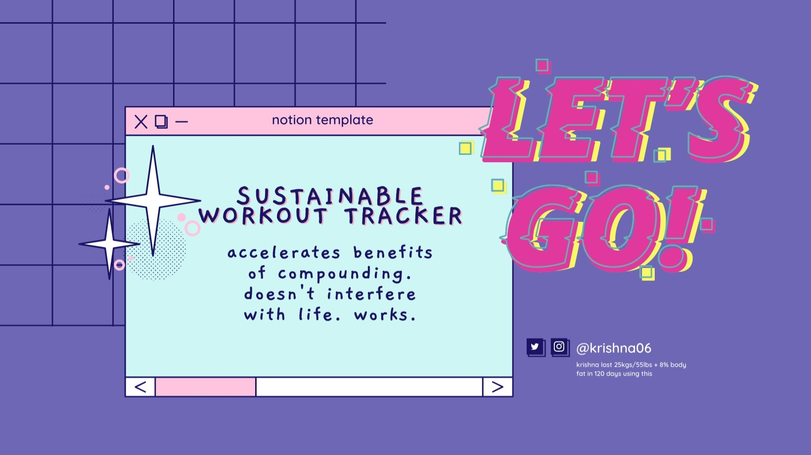 AppSumo Deal for Sustainable Physical Transformation Tracker