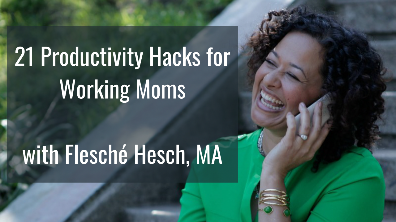 AppSumo Deal for 21 Productivity Hacks for Working Moms