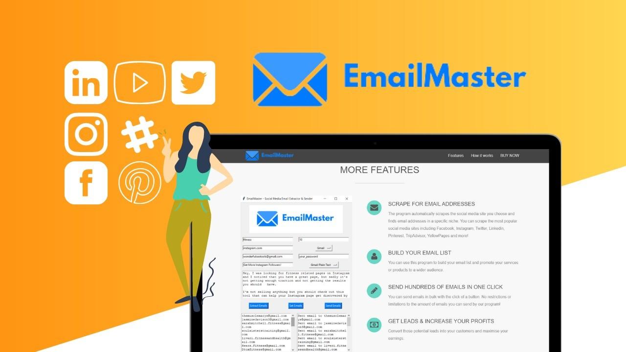 AppSumo Deal for Social Media Email Extractor & Bulk Email Sender