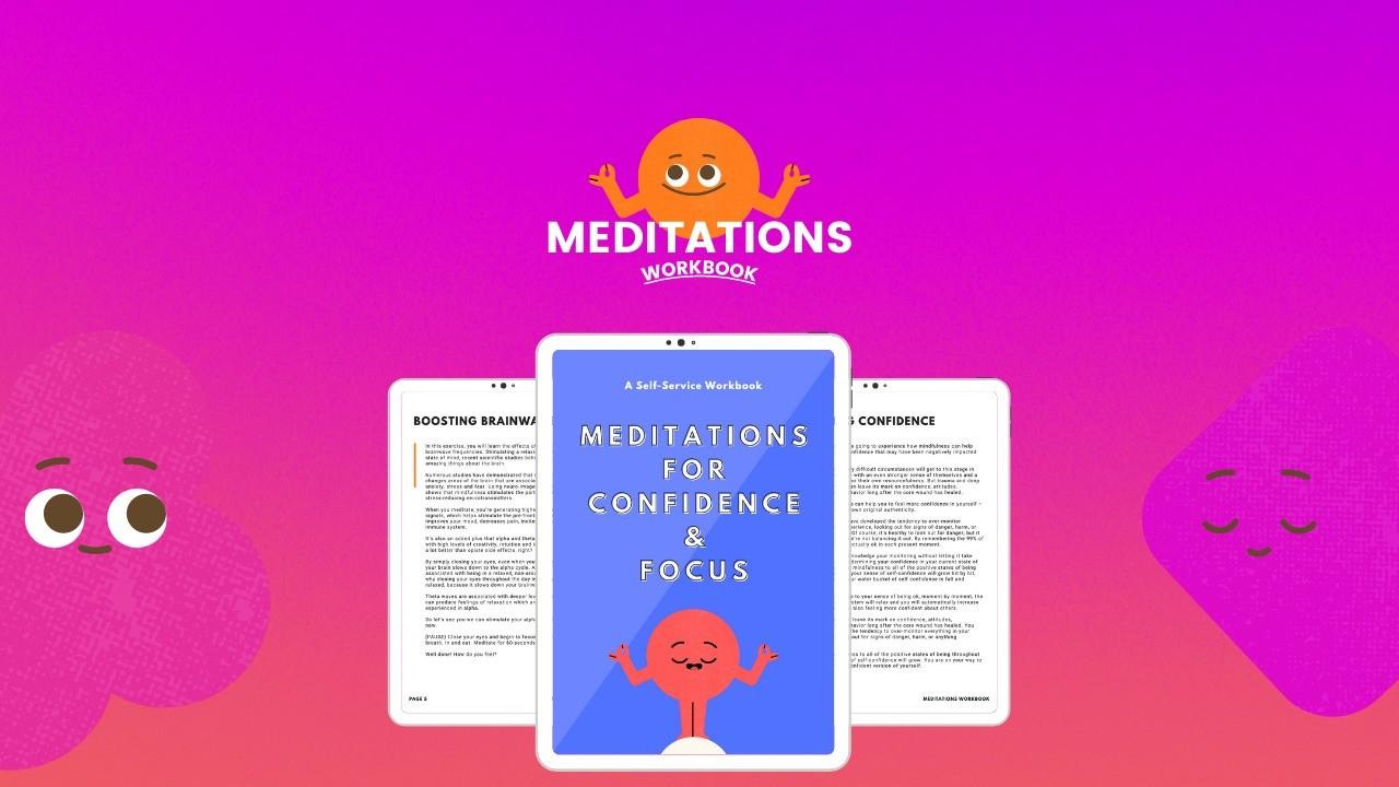 AppSumo Deal for Meditations for Confidence & Focus (Workbook)