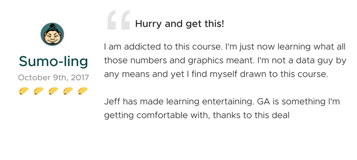 Lifetime Access to Analytics Course by Jeffalytics