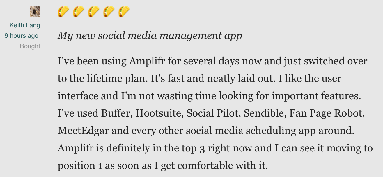 Lifetime Access to Amplifr's Agency Plan