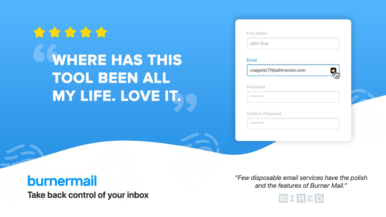 Burner Mail Premium Lifetime Deal