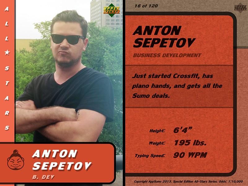 Anton's Stats