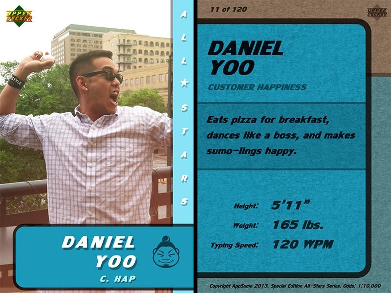 Daniel's Stats